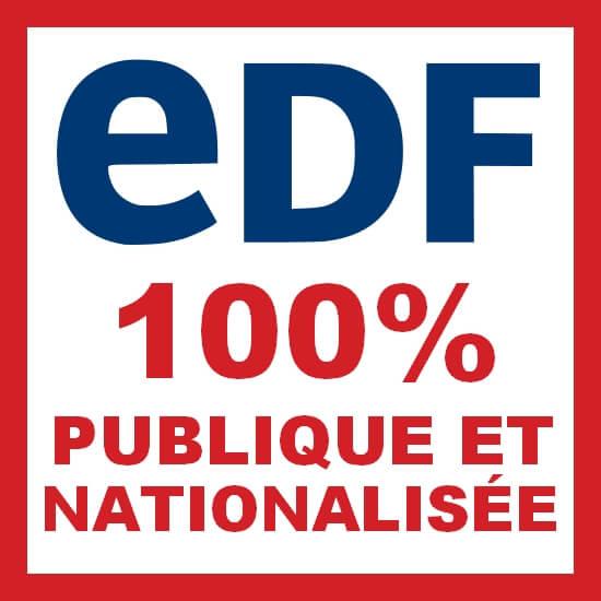 Pétition pour une EDF 100% nationalisée - Stoppons le processus de marchandisation – privatisation de l'électricité